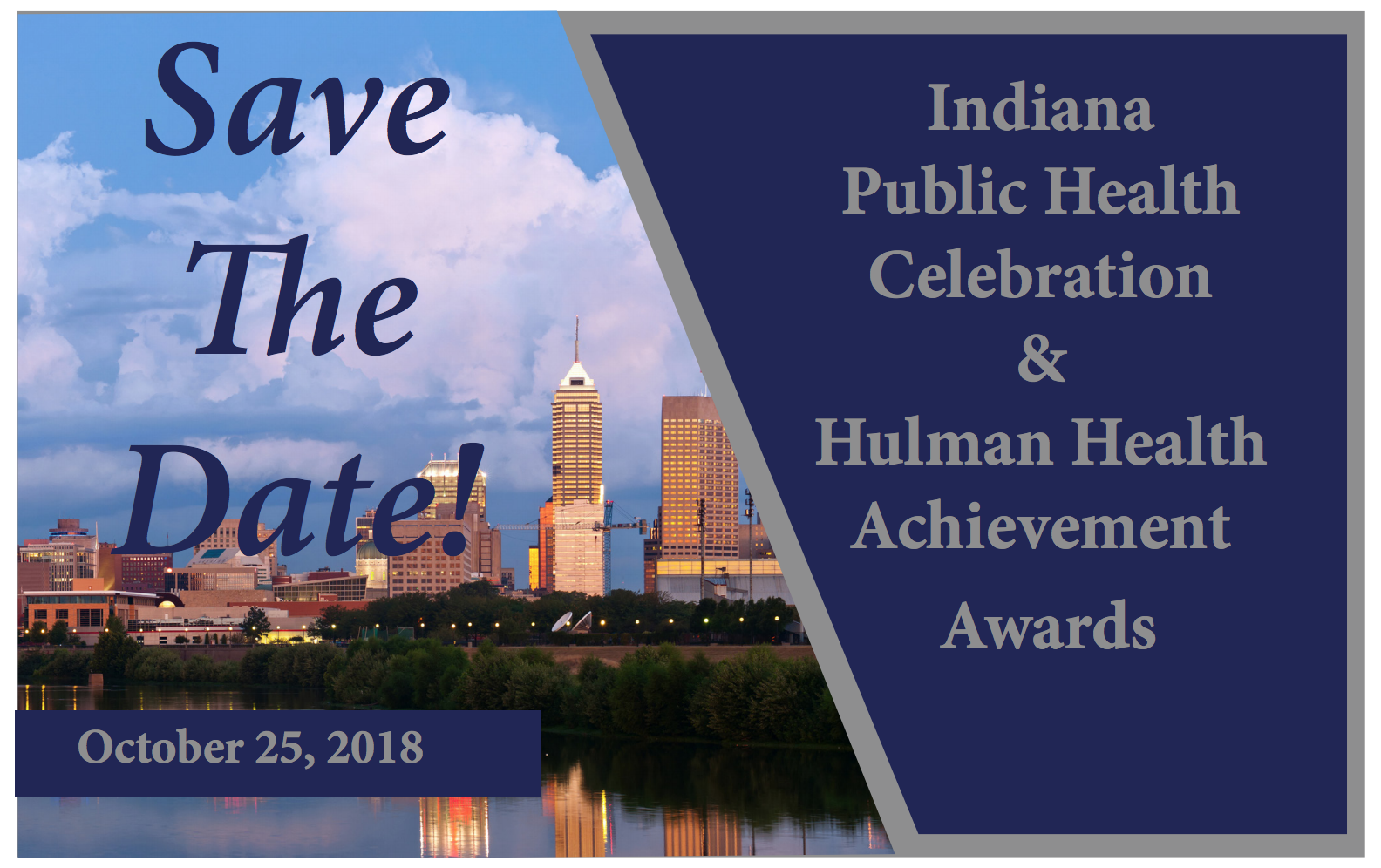 Save The Date Health Celebration